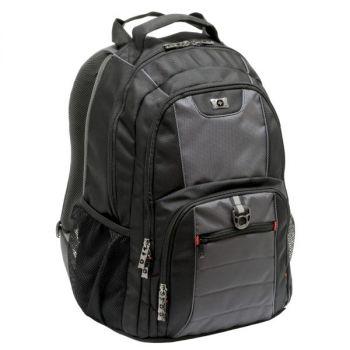 PC Sekk Wenger Pillar For 16'' Sort-Grå Computer Backpack
