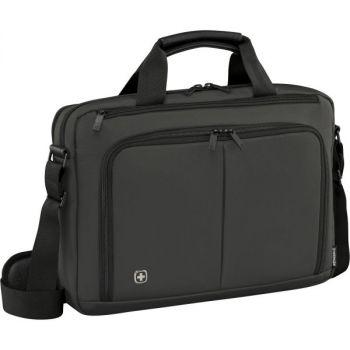 PC veske Wenger Source For 14'' Grå Laptop Briefcase