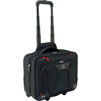 PC koffert Wenger Transfer For 16'' Sort Utvidbar Wheeled Laptop Case