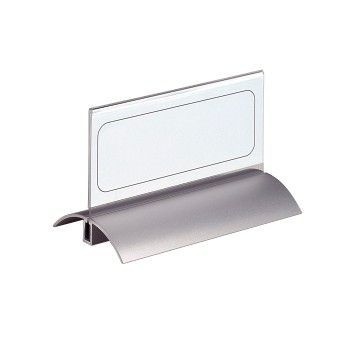 Bordskilt i aluminium og plast 150x61mm (2 stk)