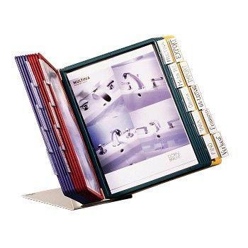Vingregister Vario A4 20-lommer, 4 farger
