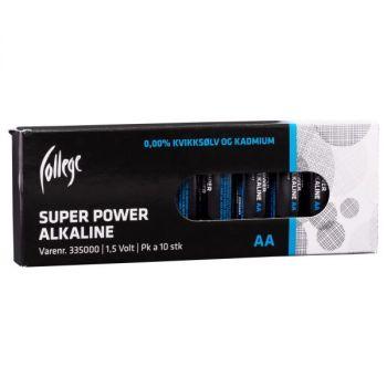 Batteri 1,5V College AA LR06 (10 stk)