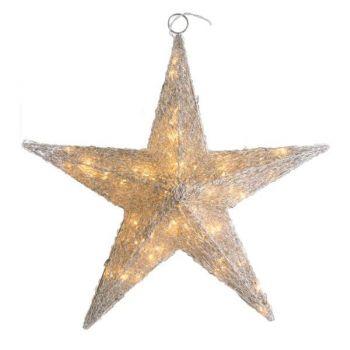 Stjerne med lys, Ø60cm