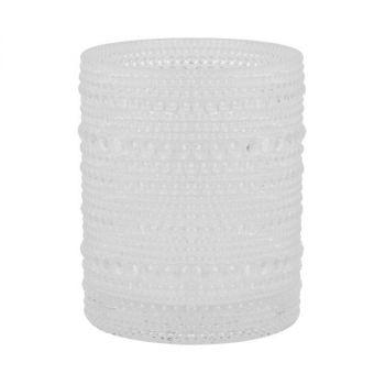Lysholder - Duni Grace - klart glass - 150x85mm (6 stk)