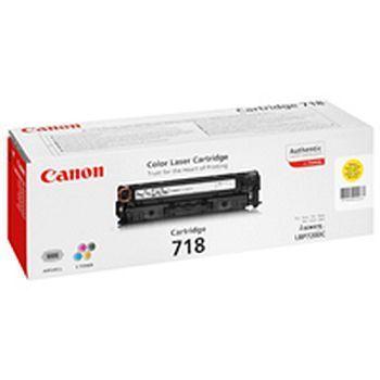 Toner Canon 718Y Gul