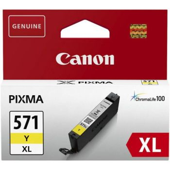 Blekk Canon Cli-571Xl Y Gul