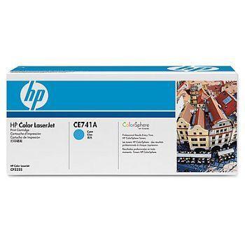 Toner HP CE741 cyan