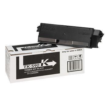 Toner Kyocera TK-590K Sort