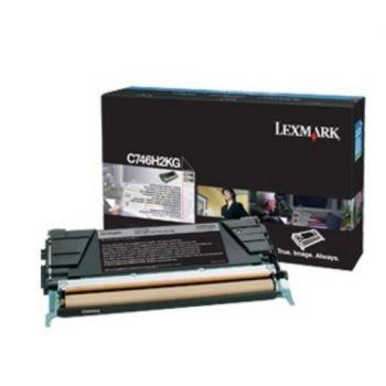 Toner Lexmark C746H3KG Sort 12.000 sider
