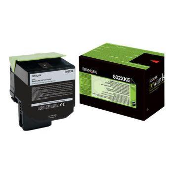 Toner Lexmark 80C2XKE Sort 8.000 sider