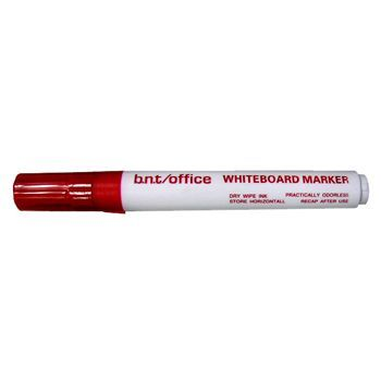 Whiteboardpenn Rød, Whiteboard Marker, Strekbredde 2-3,0mm (12 stk)