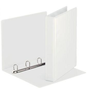 Innstikkperm A4 PVC, 4 rings 35mm, Hvit