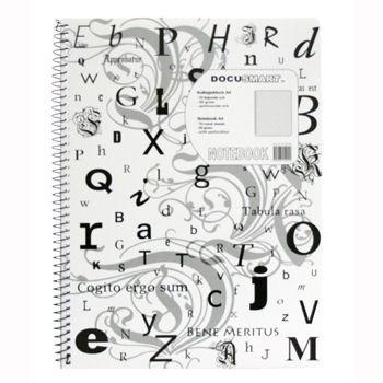 Notatblokk A4 60g, linjer