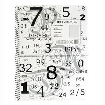 Notatblokk A4 60g, ruter (10 bl)