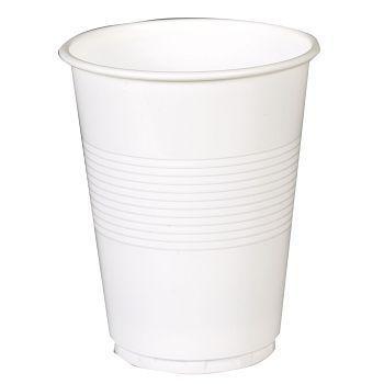 Beger hvit plast 21cl